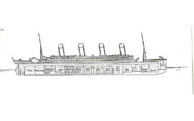 Titanic descent 11pm