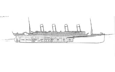 Titanic descent 1:20am