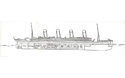Titanic descent 12:20am
