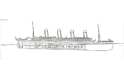 Titanic descent 12:40am