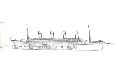 Titanic descent 12:45am