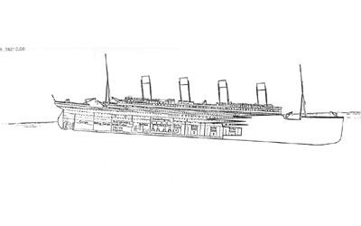 Titanic descent 2:05am