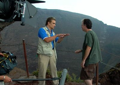 On the rim of Vesuvius