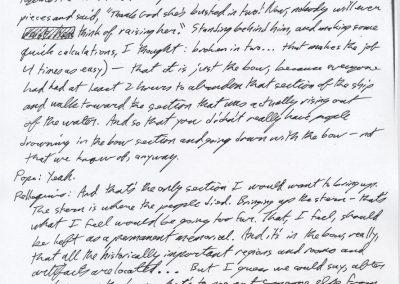 Titanic Document 15