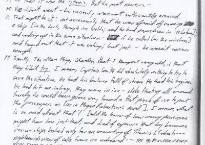 Titanic Document 26