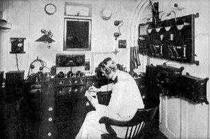 telegraph machine operator